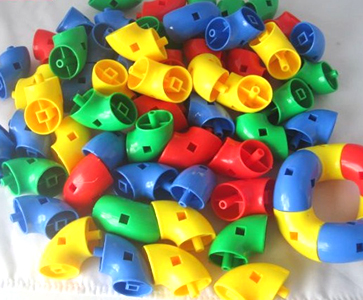 Samples of toy bricks mould